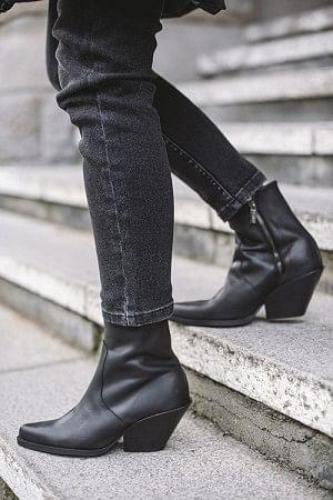 Ohio Venice Boots Black