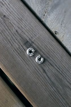 Mini Chunky Hoops Silver