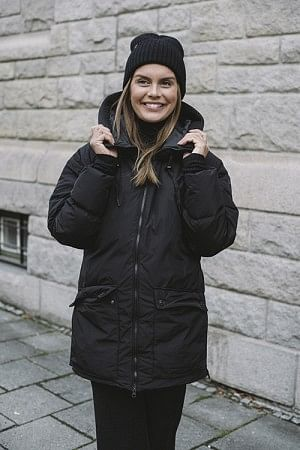 Stella Down Jacket Black