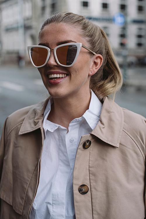 QUAY Reina Pearl solbriller