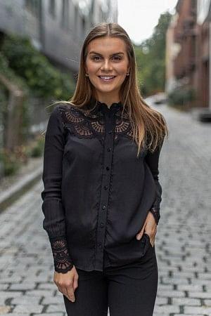Shirt LS Black