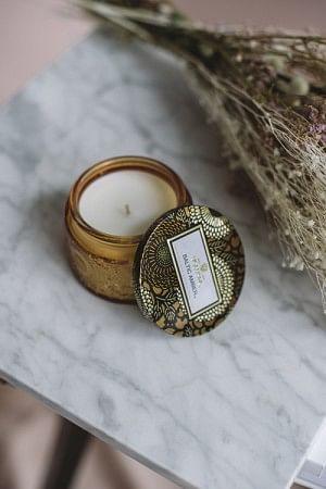 Baltic Amber Small Glass Jar 25t